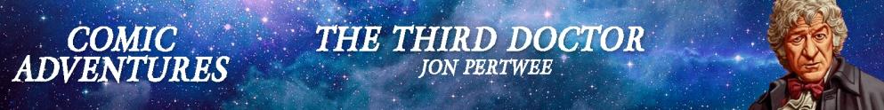 The Third Doctor Comics