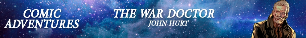 The War Doctor Comics