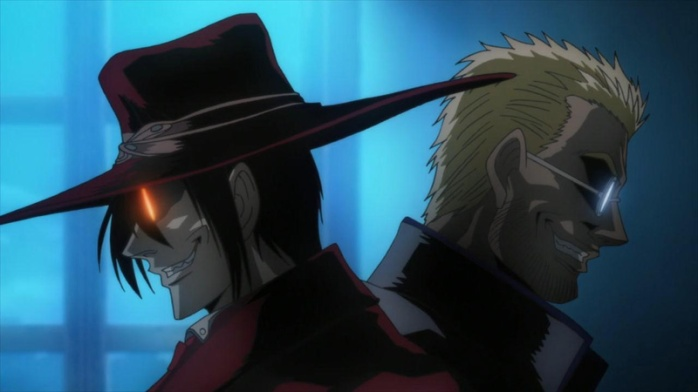 Hellsing Ult 1 and 2 3