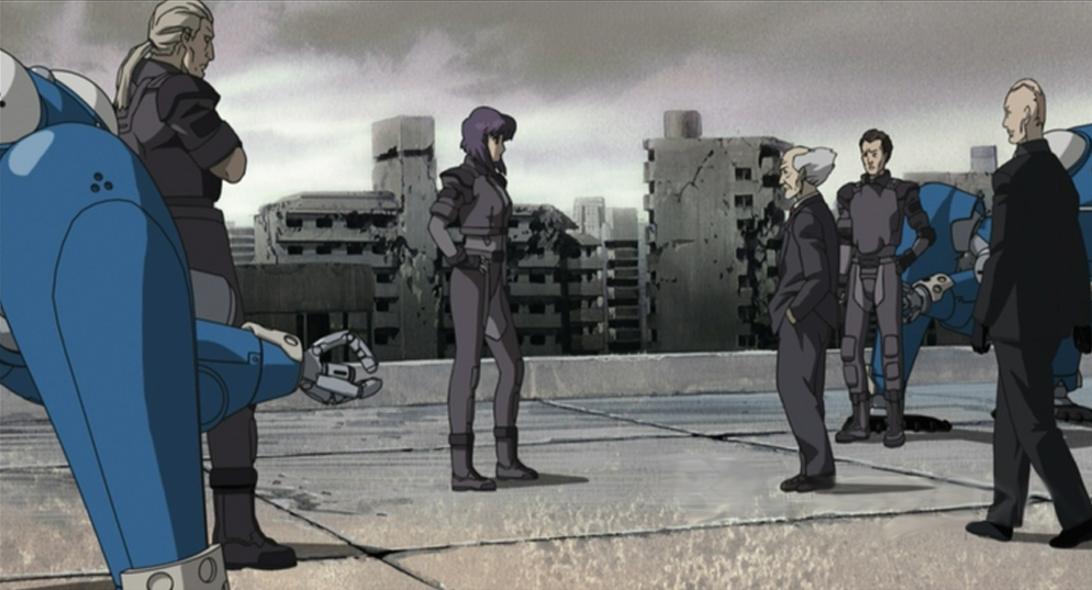 Ghost In The Shell Stand Alone Complex 2nd Gig Episodes 1 13 Review Hogan Reviews