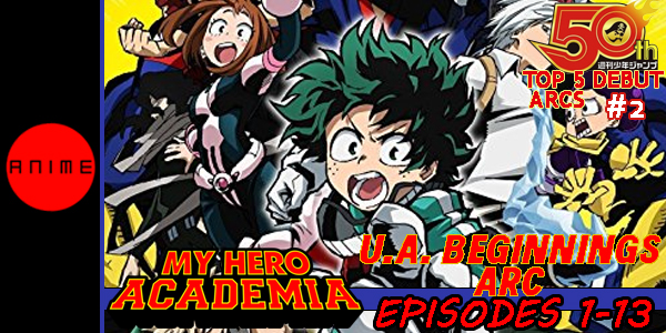 My Hero Academia UAB Arc