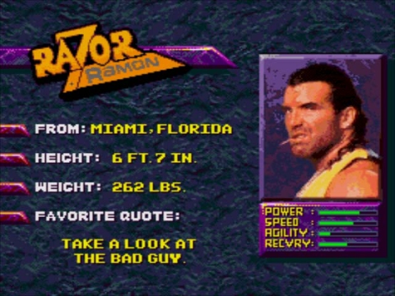 WWF WM The Arcade Game 5