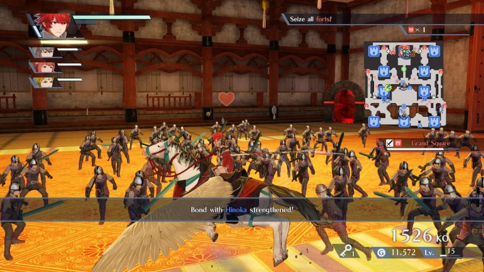 Fire Emblem Warriors 1
