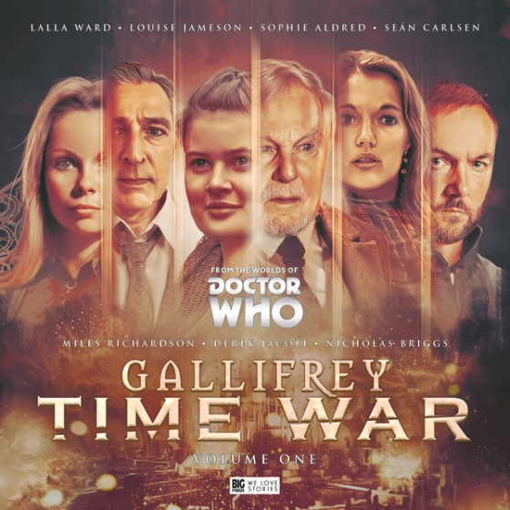 Gallifrey Time War Vol 1 Cover