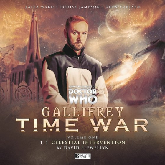 Gallifrey Time War Vol 1 Pt1 Cover