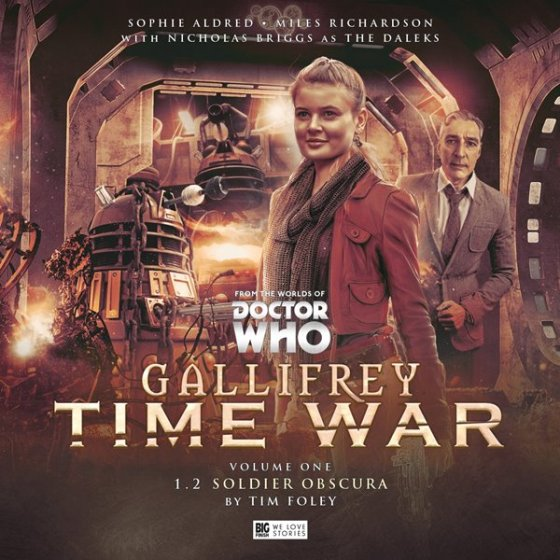 Gallifrey Time War Vol 1 Pt2 Cover