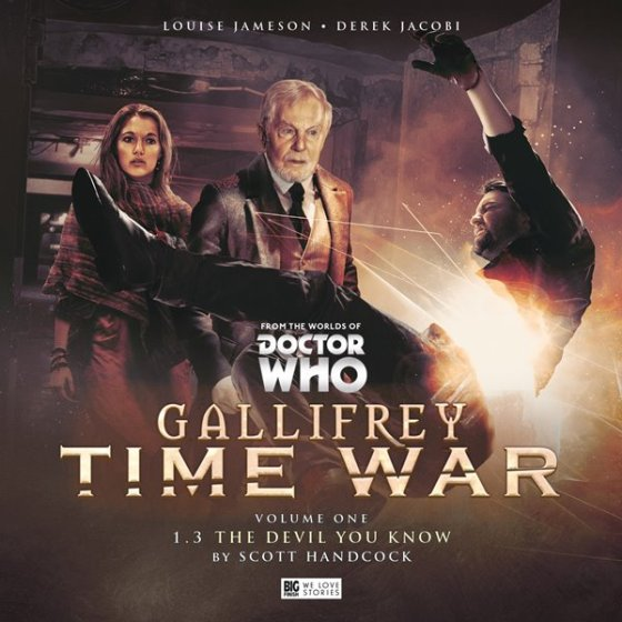 Gallifrey Time War Vol 1 Pt3 Cover