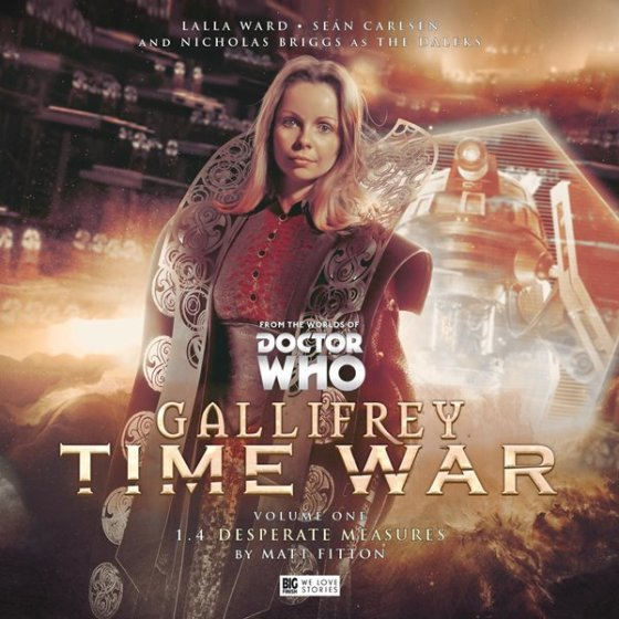 Gallifrey Time War Vol 1 Pt4 Cover