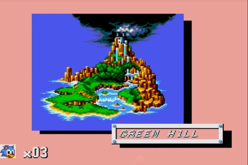 Sonic The Hedgehog MS 1