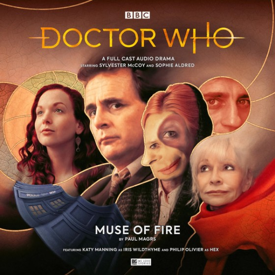 DW Muse of Fire Cover