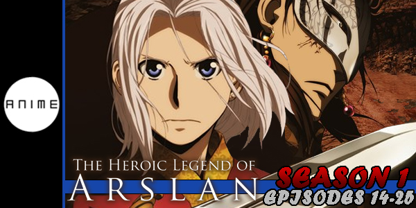Heroic Legend of Arslan P2