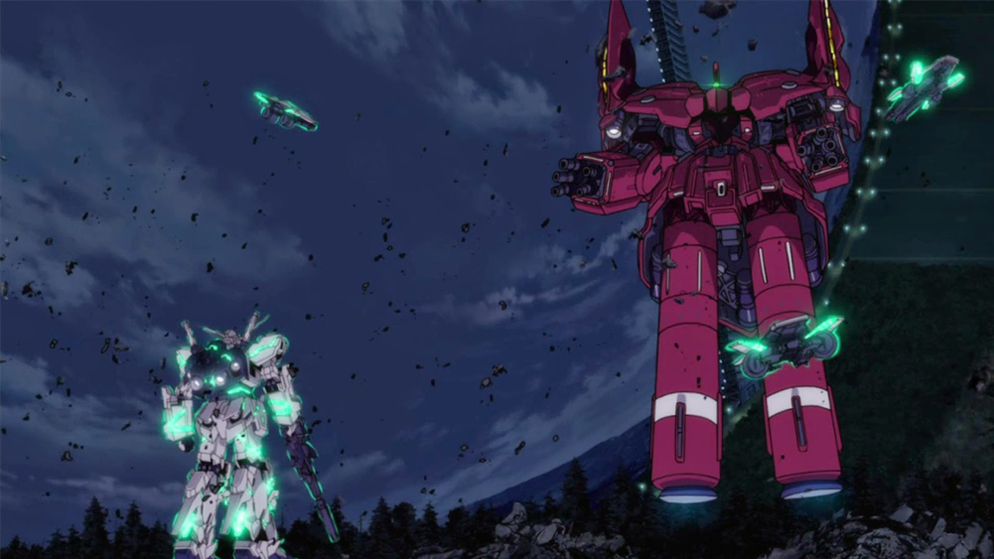Gundam Unicorn P4 3