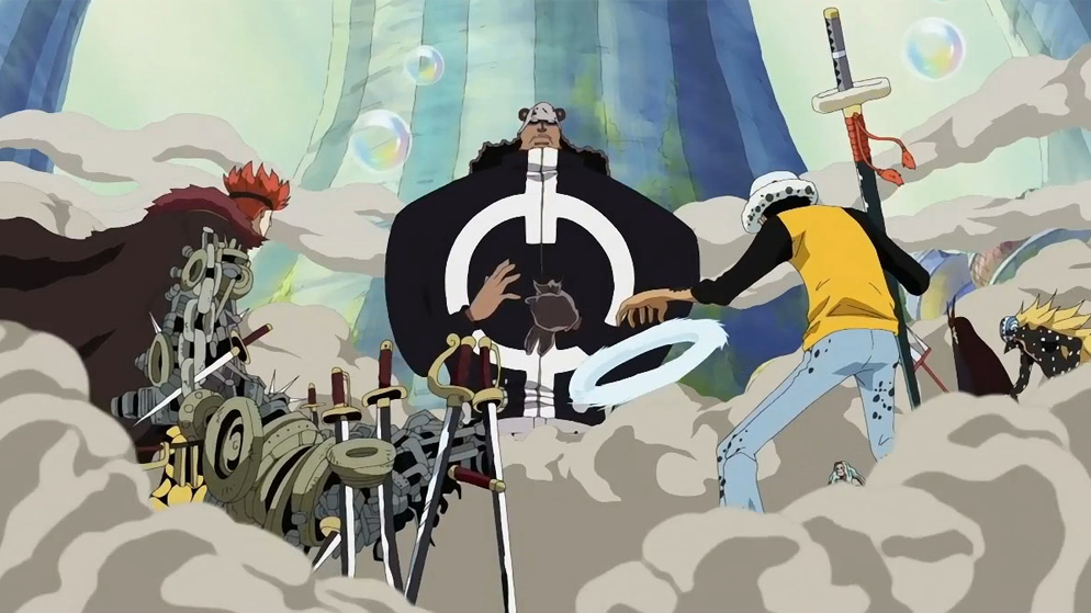 one piece sa arc 2