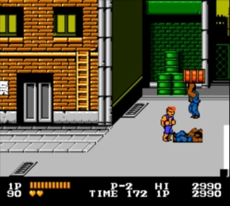 Double Dragon NES 1