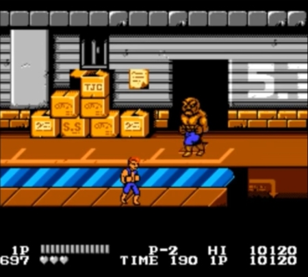 Double Dragon NES 2