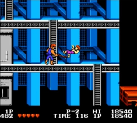 Double Dragon NES 3
