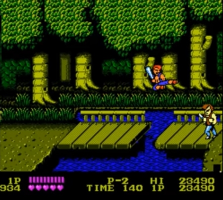 Double Dragon NES 4