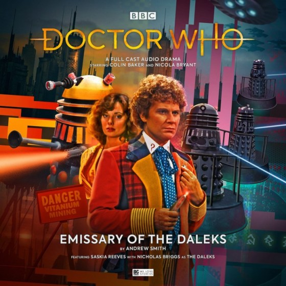 DW Emissary of the Daleks Cover