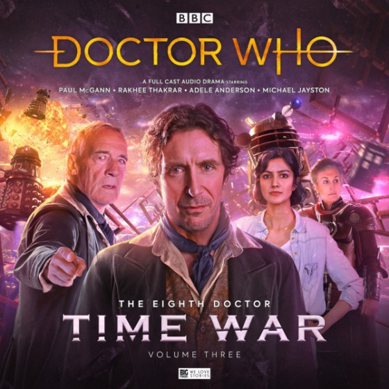DW Time War S3 Cover