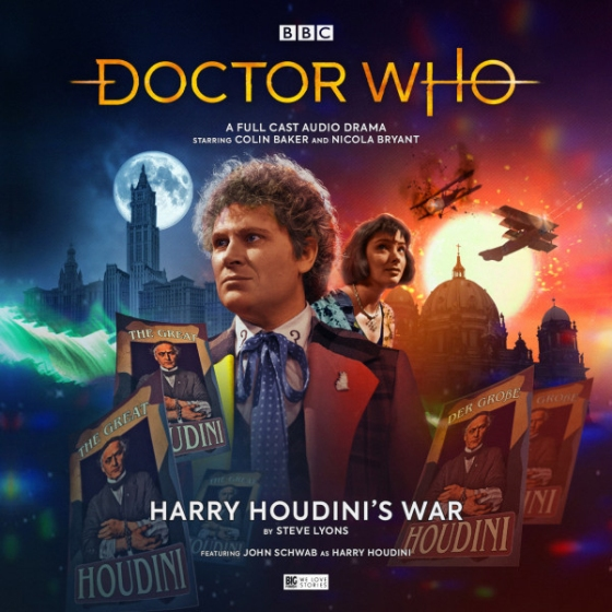 DW Harry Houdini's War Cover