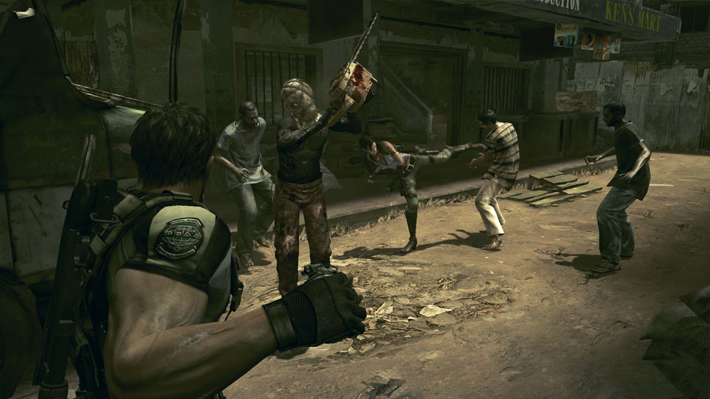 Resident Evil 5 Xbox 360 Review Hogan Reviews