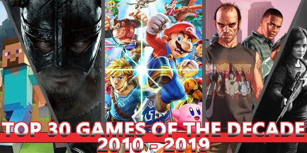 Decade Top 30 Games 2010s