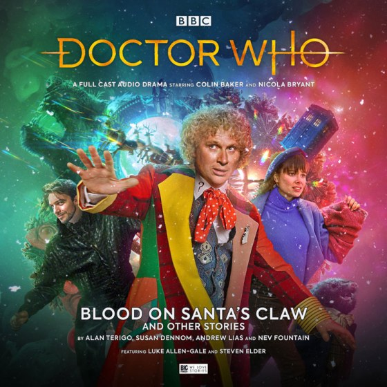 DW Blood on Santa's Claw Cover