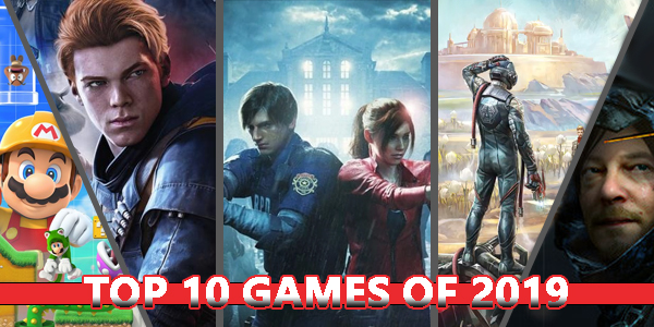 Top 10 Games 2019