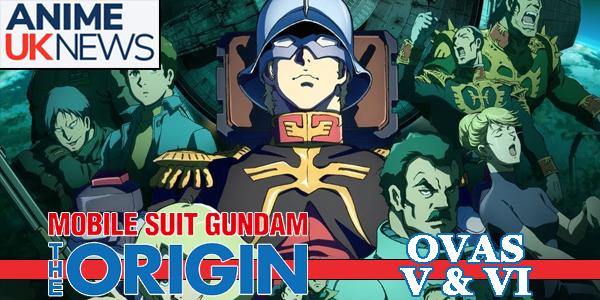 Gundam Origin V and VI