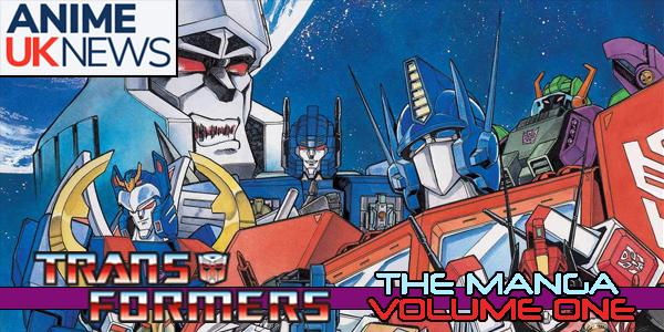 Transformers Manga Vol 1