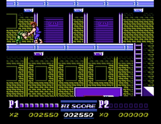 Double Dragon II 2