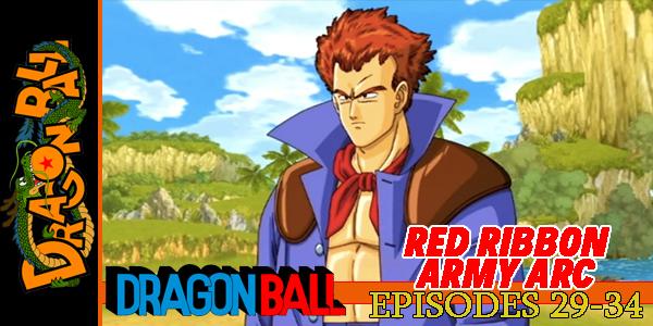 Dragon Ball Red Ribbon Army Arc Pt1