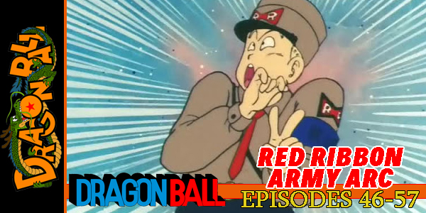 Dragon Ball Red Ribbon Army Arc Part 3