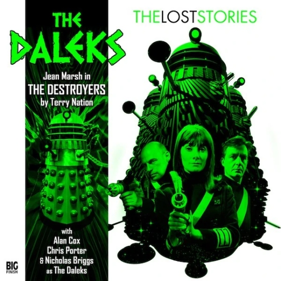 DW Daleks The Destroyers Cover