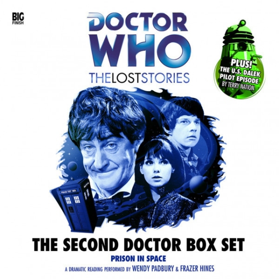 DW Second Doctor LS Boxset