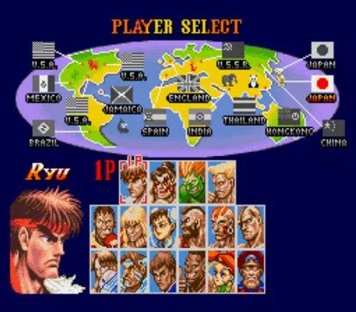 Super Street Fighter II 1