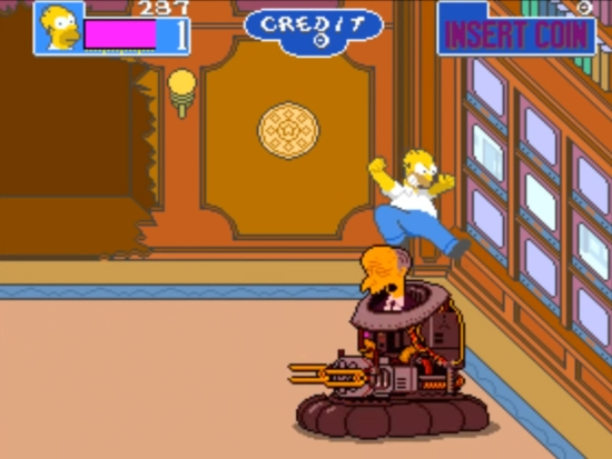 The Simpsons Arcade 4