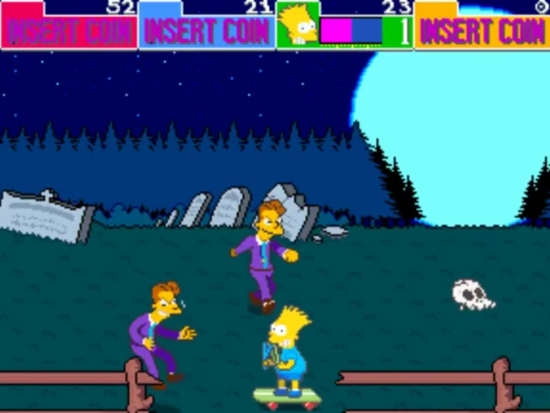 The Simpsons Arcade 5