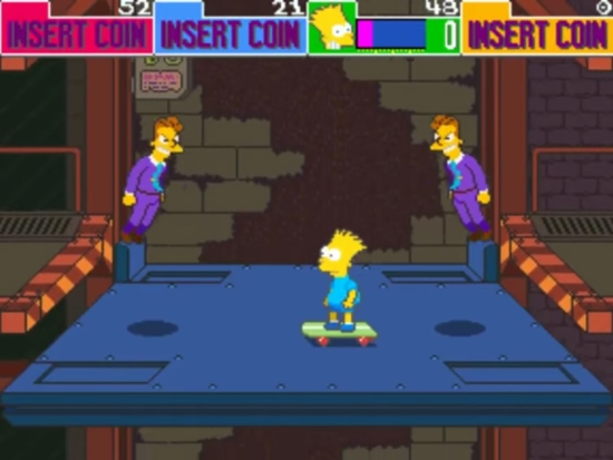 The Simpsons Arcade 6