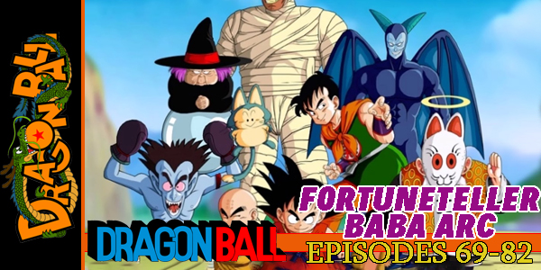 Dragon Ball Fortuneteller Baba Arc