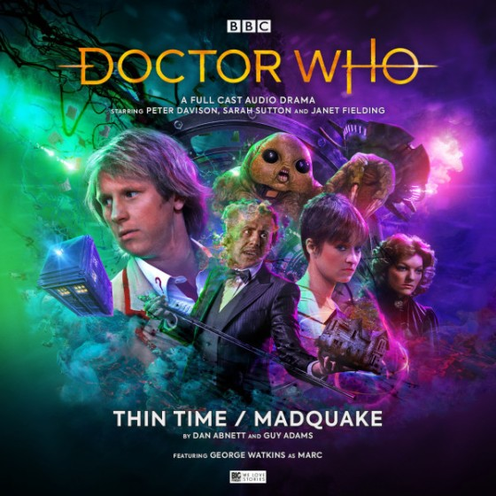 DW Thin Time Madquake cover