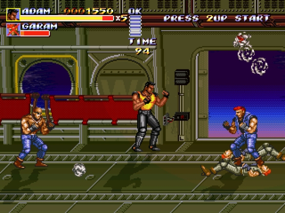 Streets of Rage Remake 1