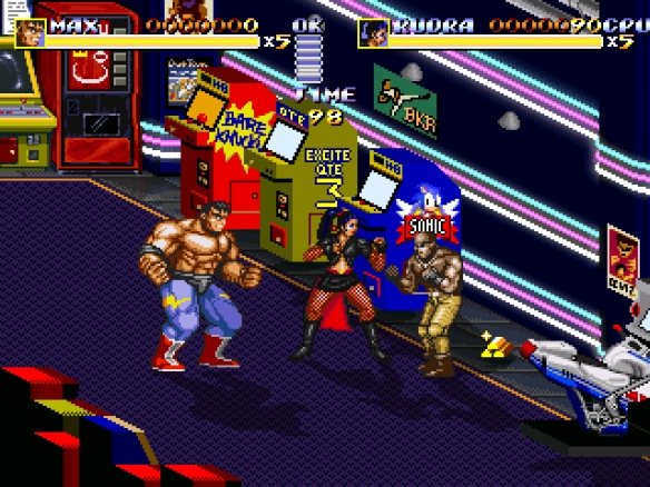 Streets of Rage Remake 7